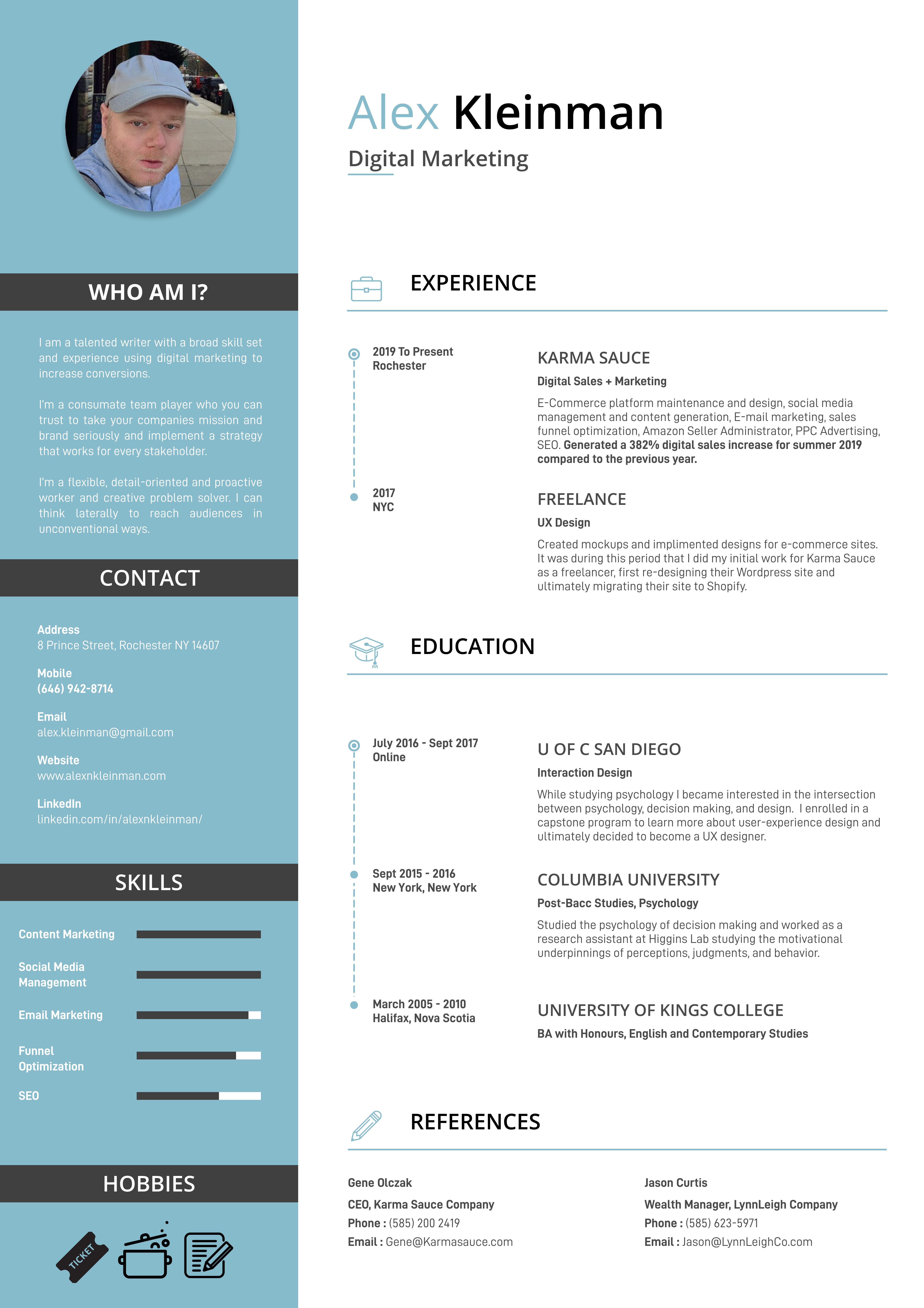 Resume – 2